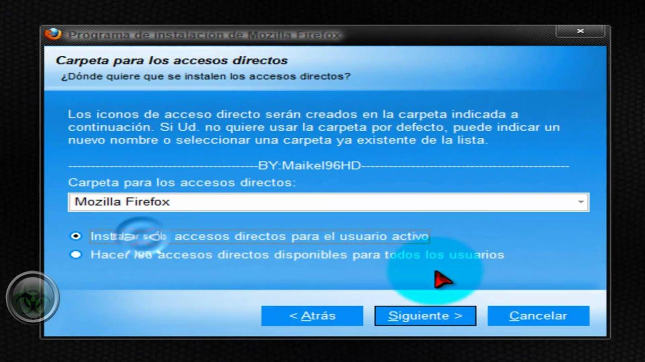 descargar mozilla firefox 2012 gratis espanol para windows 7