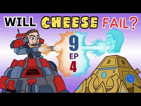 Will Cheese Fail Season 9 Episode 4 -- Starcraft 2 [LAGTV]