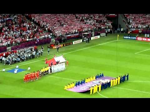 EURO 2012: Polska - Rosja - Hymn Polski / The Polish Anthem