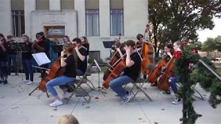 RHS Orchestra Playing the
