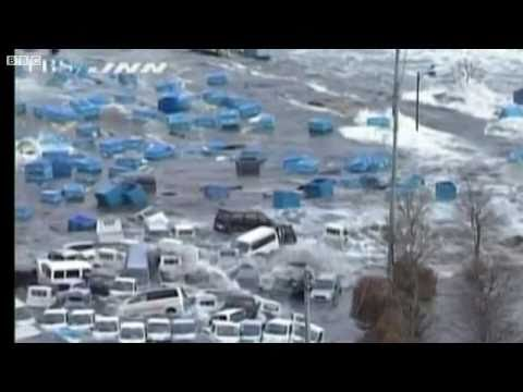 BBC News - Japan hit by tsunami after massive earthquake