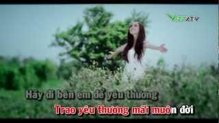 Đồng xanh - karaoke ( only singer)