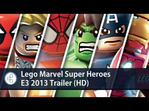 Lego Marvel Super Heroes E3 2013 Trailer (HD)
