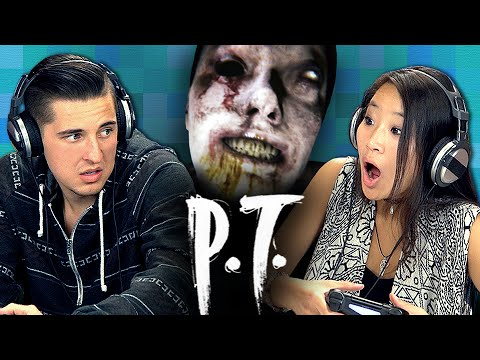 P.T. - Silent Hills (Teens React: Gaming)