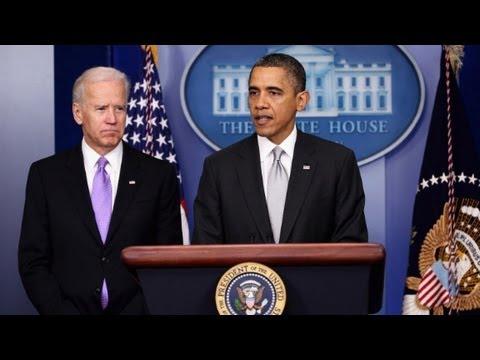 Obama pledges actions on guns 12/19/2012