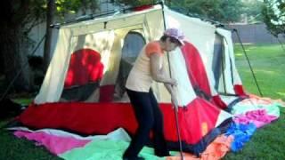 & Ten Minute Tent: Columbia Cougar Flats Pitch Main Lift - YouTube
