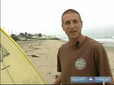 Learn How to Surf : Basic Beginning Surfing Tips