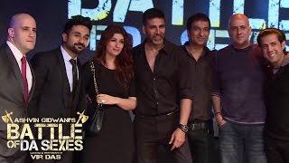 Akshay Kumar and Twinkle Khanna at Battle of Da Sexes