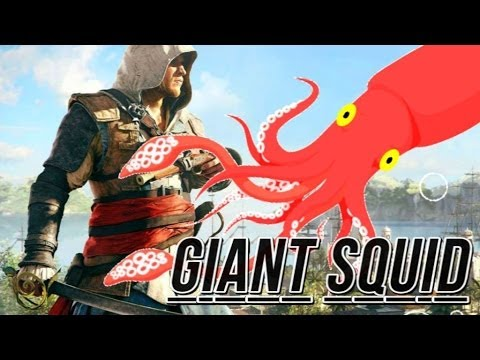 Assassin's Creed 4 Black Flag Creepiest Easter Egg - Giant Squid (Assassin's Creed IV Secrets) - UCwsLXInOtJM01ZCslCeuWxQ