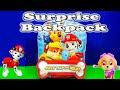 PAW PATROL Nickelodeon Paw Patrol Surprise Backpack a Paw Patrol Suprise Egg Video