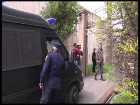Narcotráfico: Así llegaban los imputados al Tribunal Federal de Paraná