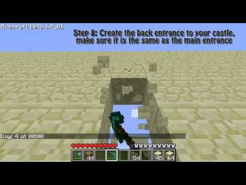 Minecraft: Building a Sandcastle Part 1 - Getting Started