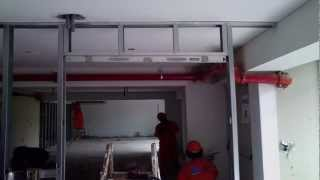 Drywall Lima Perú ¦¦¦¦ Como se instala el vano de una puerta