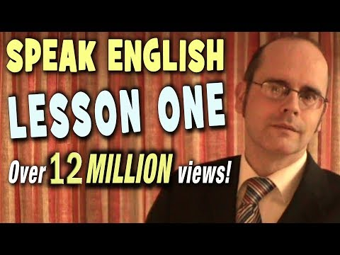 Learning English - Lesson One (Introduction)