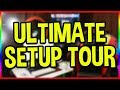 My ULTIMATE Streaming & Gaming Setup Tour! 2018 Update!