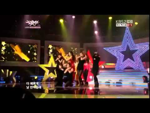 120511 SNSD TaeTiSeo - Twinkle Live @ Music Bank