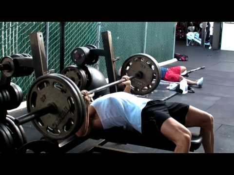 WBFF Pro - Rob Riches. Video Blog. Video #14: Chest & Triceps @ Gold-s Gym, Venice. Part 1 of 2