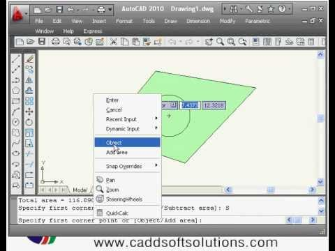 AutoCAD Basics Online Beginners Quick Video Tutorial Lessons - 2B
