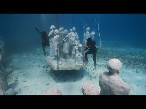 Jason deCaires Taylor and Museo Subaquatico de Arte