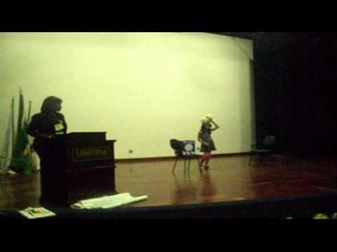 II Festival de Contadores de Histórias de Uberaba - participação da Deborah