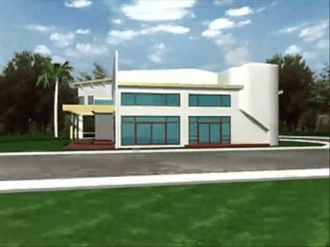 Plano de casa moderna for Casas modernas y sus planos
