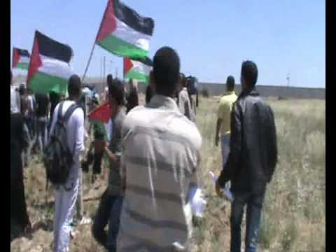 Israeli army fires on Gaza demonstration at Erez Crossing