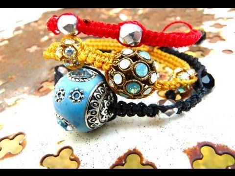 Tutoriel : Comment faire un Bracelet de type Shamballa