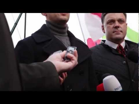 Дурнєва не пускають до Яценюка в Франківську..