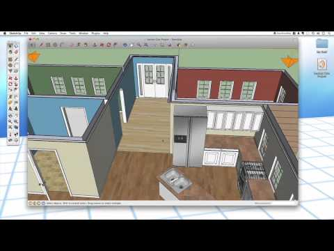 Sketchup #34: Section Cuts