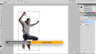 Photoshop CS5 Tutorials-13 Cropping and Transformations 8. Free Transform