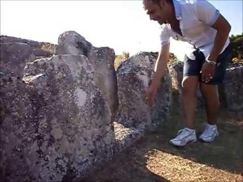 La Tomba dei Giganti di Aiodda di Nuragus - Archeologia in Sardegna