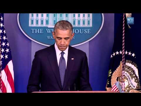 President Obama  Makes a Statement on (Foreign Policy)   7/17/14