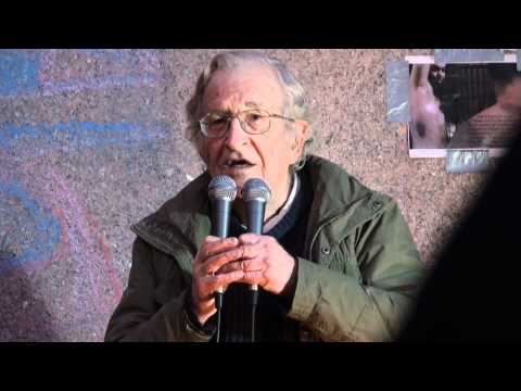 Noam Chomsky at Occupy Boston: Video 1 of 3