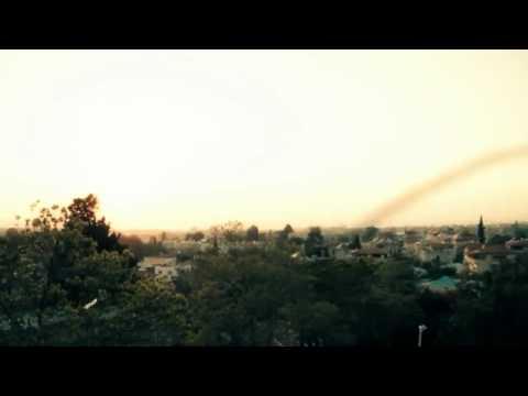لحظة سقوط صاروخ على مستوطنات اسرائيليه.شاهدو الرعب