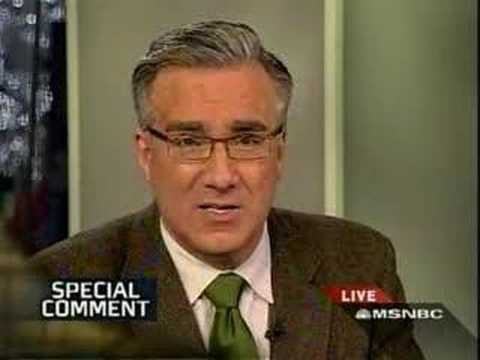 Keith Olbermann Special Comment: Bush is a liar or idiot