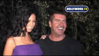 chanel-: Simon Cowell and Terri Seymour Seem Happy At Beso