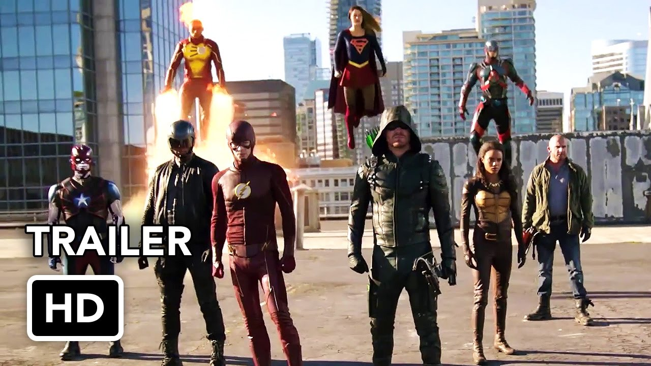 The Flash, Arrow, Supergirl, DC's Legends of Tomorrow4 Night Crossover Event Trailer(HD) Thumbnail