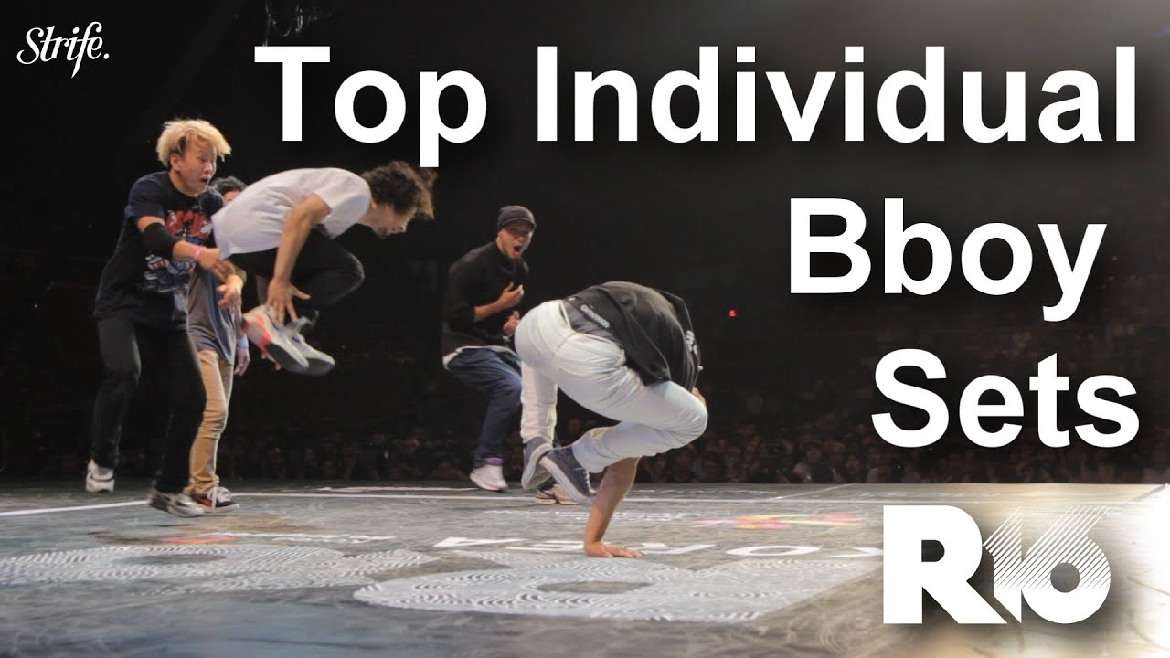 Top Individual Bboy Sets | STRIFE. | R16 World Finals 2013