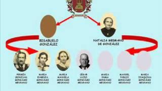 ÁRBOL GENEALÓGICO DE LA FAMILIA GONZÁLEZ RODRÍGUEZ.wmv
