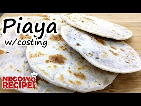 How to make piaya for food business