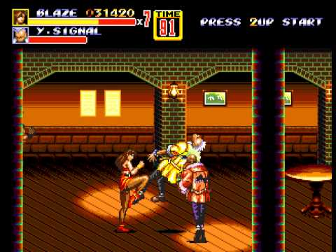 Streets of Rage 2 - Streets of Rage 2 (GEN) - Vizzed.com Play - User video