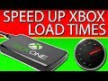 Xbox One ★ Game Load Times Improved with External Hard Drive