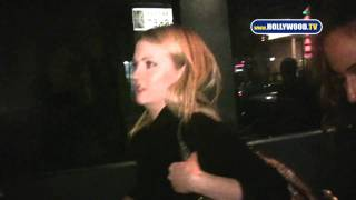 chanel-: Melissa Joan Hart Departs Supper Club