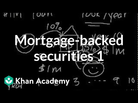 Mortgage-Backed Securities I