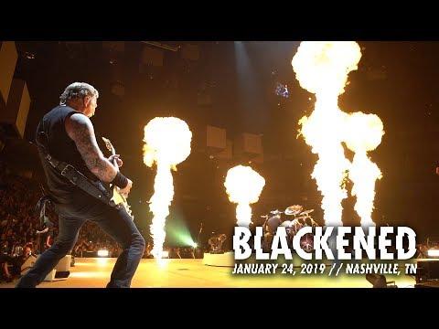 Metallica: Blackened Nashville, TN – January 24, 2019