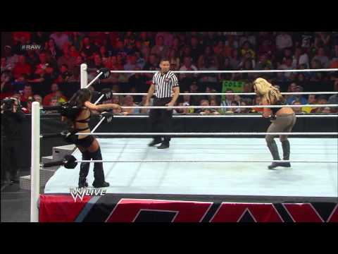 Kaitlyn vs. Nikki Bella: Raw, April 15, 2013