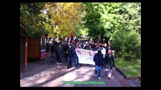 Марш футбольних фанатов Житомира