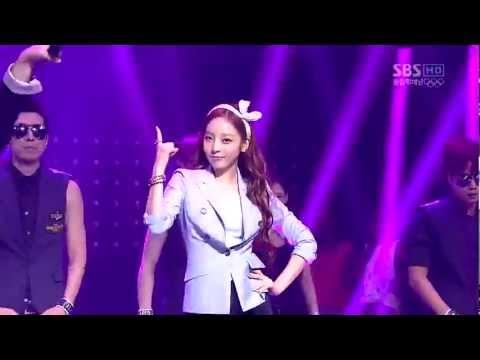 Nicole & Hara Cut nhóm Kara nhảy điệu ngựa Gangnam Style Live