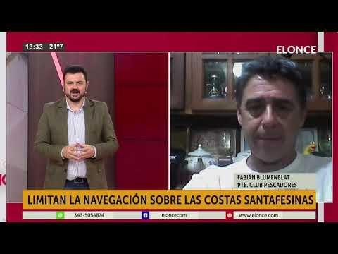 Restricciones en costa santafesina: Paranaenses no pueden navegar en todo el río