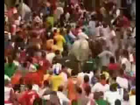 Encierro San Fermin - 12 de Julio de 2008 - TVE